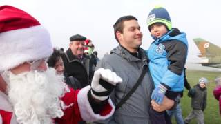 Mikołaje przylecieli z nieba w Krośnie