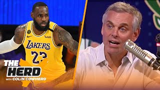 Colin Cowherd plays the NBA 3-Word Game | THE HERD