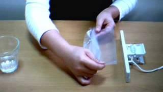 クリップシーラー ビニール袋の密封、シール