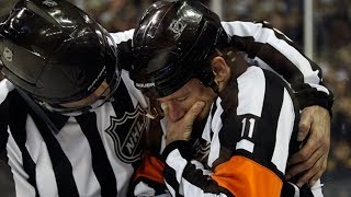 NHL: Refs Getting Hit