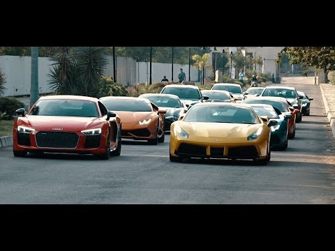 Supercars In India Hyderabad Supercars Invasion #Cars@Dinos