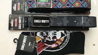 Call of Duty Infinite Warfare - Web Belts & Crew Socks at Target
