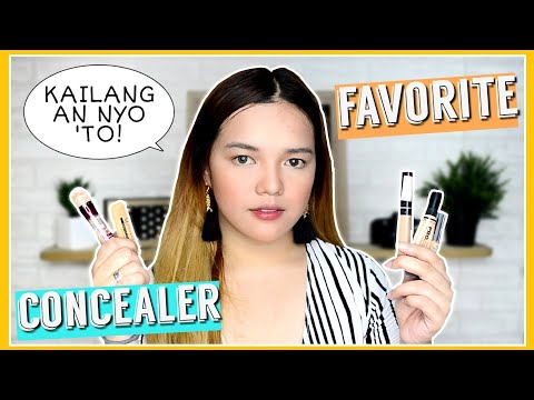 MY TOP 5 AFFORDABLE CONCEALER (Drugstore) | Philippines