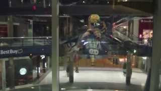 Otis Hydraulic Elevator @ Mall of America East Broadway after closing Bloomington MN