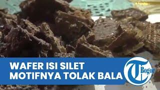 Penyebar Wafer Berisi Potongan Silet dan Isi Staples Ditangkap, Motifnya Tolak Bala