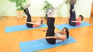 Смотреть онлайн Пластическая гимнастика калланетик для начинающих