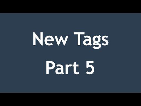 تعلم HTML5 القائمة #1 الفديو #12