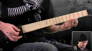 Darkest Hour Convalescence Guitar Lesson
