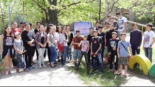 Cleaning day Bishkek - Kyrgyzstan