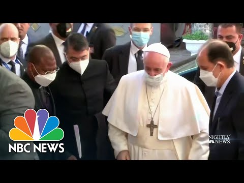 Pope Francis Delivers Message Of Unity During Visit To Iraq | NBC Nightly News