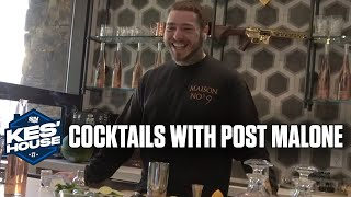 Making Cocktails With Post Malone! | Kes' House