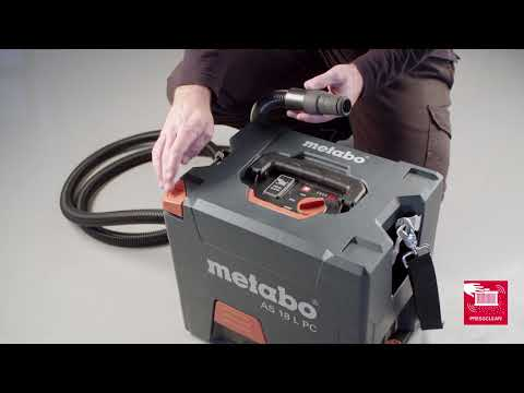 Metabo AS 18 L PC  nat/droogzuiger (body)