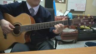 Andy Williams - Red roses for a blue lady (guitar backing)