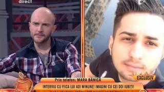 """Mara Bănică: """"Adi Minune îl roagă pe Franco să îi dea un telefon"""""""