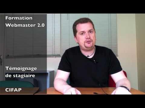 Formation webmaster 2.0 l'avis de Yann - YouTube