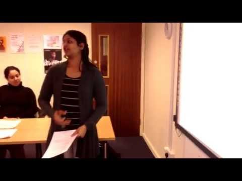 NVQ Level 2 in Business Administration - Student Presentation Video