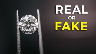 5 Ways To Tell If A Diamond Is FAKE or REAL