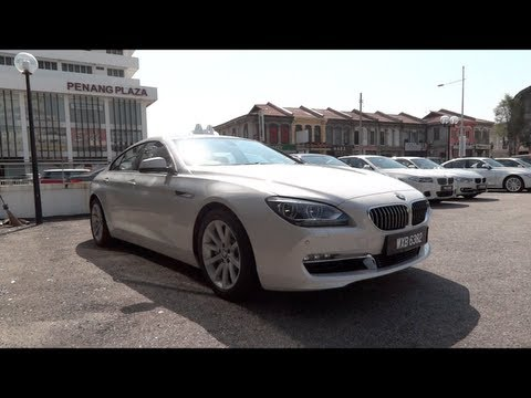 2012 BMW 640i Gran Coupe Start-Up and Full Vehicle Tour