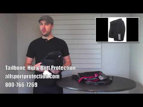 Protective Padded Shorts for Mountain Biking, Skiing, Snowboarding, BMX
