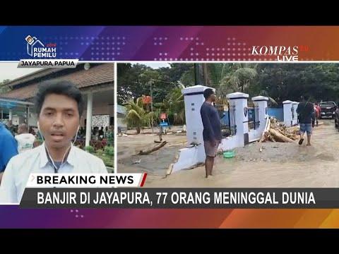 Banjir di Jayapura, 77 Orang Meninggal Dunia