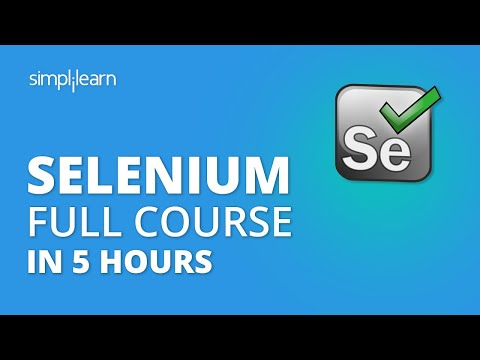 Selenium Tutorial For Beginners | Selenium Full Course | Selenium ...