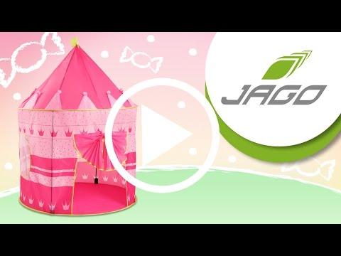 INFANTASTIC Kinderzelt Prinzessin KDZT05-6