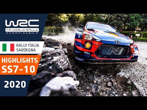 WRC ラリー・イタリア・サルディニア SS7-10のハイライト動画