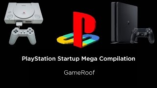 [HD|60FPS] ALL PlayStation Startups (Highest Quality) PS1, 2, 3, 4Pro, And More!