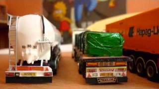 maquette camions
