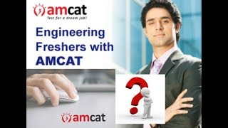 AMCAT Exam, Syllabus And Question Paper Pattern 2018 19