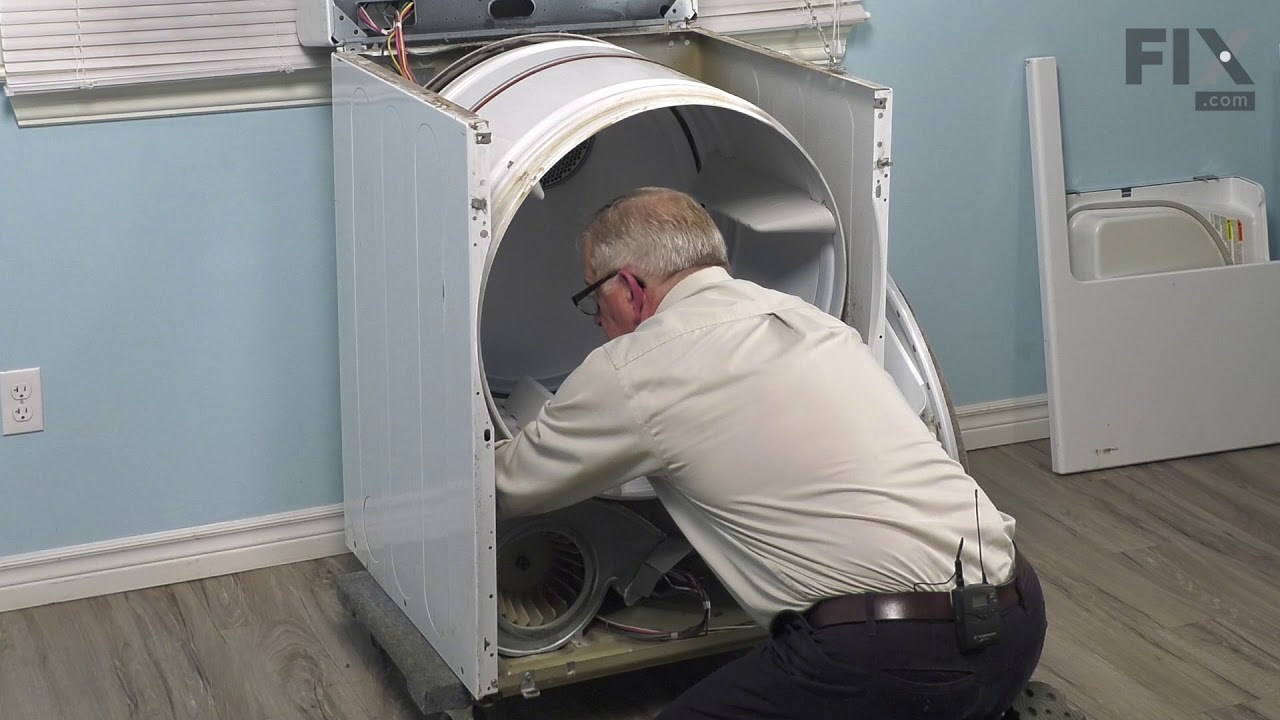 Replacing your Maytag Dryer Idler Spring with Rubber Dampener
