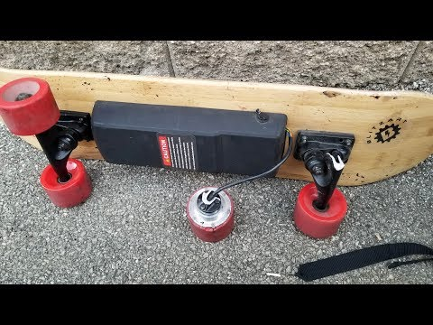 Blitzart Electric Skateboard Updated Review.   Very Dangerous Board.
