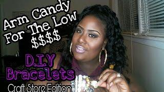 DIY Beaded Charm Bracelets/Vlog