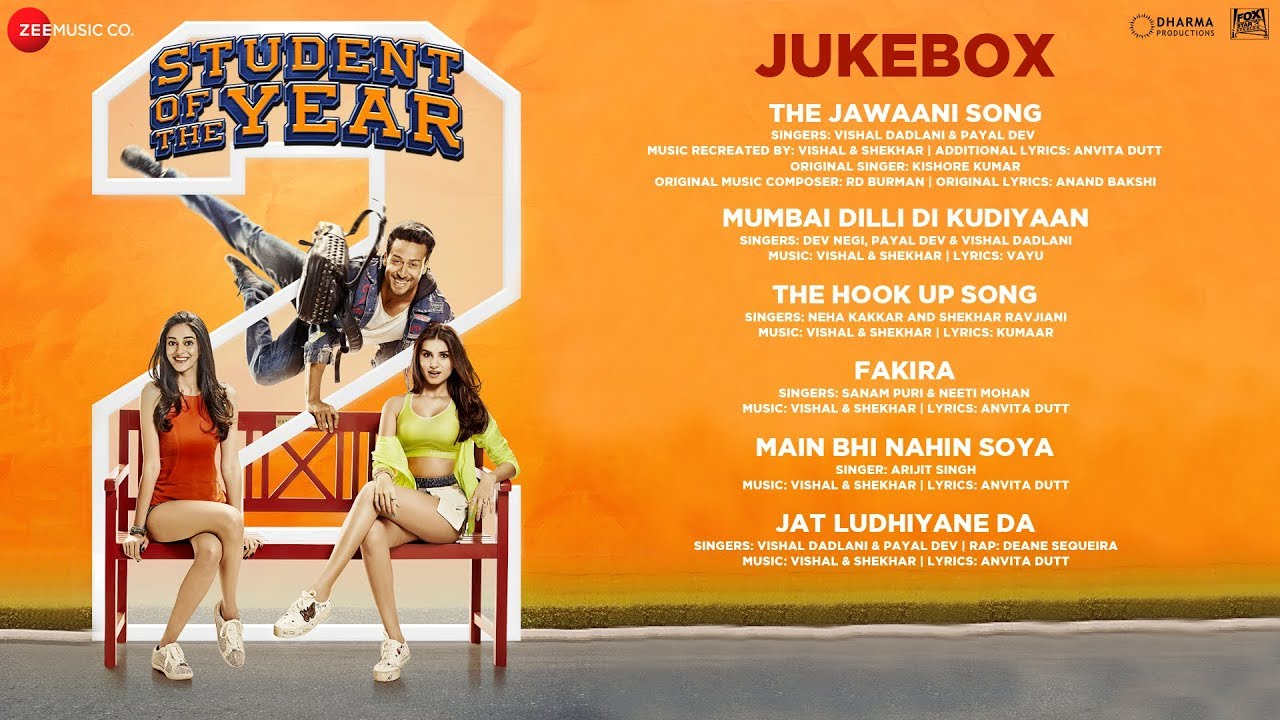 Fakira Song Lyrics – Student Of The Year 2 | Tiger Shroff