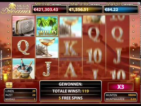 Jackpot dreams casino free spins