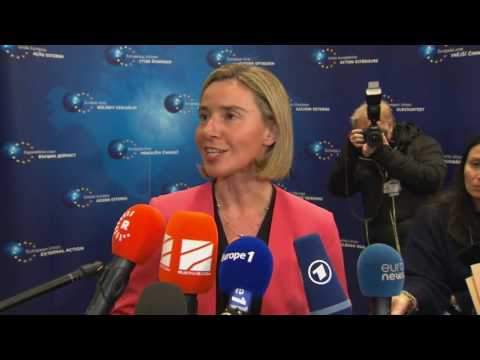 Remarks by Federica Mogherini- EU Foreign Affairs meeting