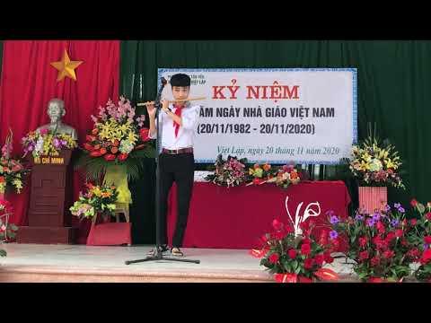 Tấu sáo Bụi phấn - biểu diễn Anh Quang