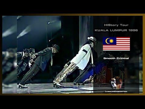 Michael Jackson - Smooth Criminal - Live Kuala Lumpur 1996 - HD