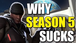 Season 5 Sucks... And Heres The Actual Reason Why | Overwatch Dive Comp, One Tricks, No Rewards