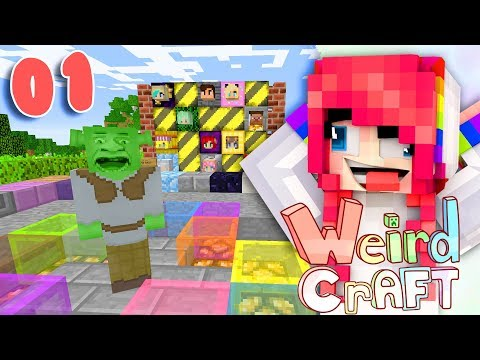 CHASED BY SHREK!?! // WeirdCraft // EP1