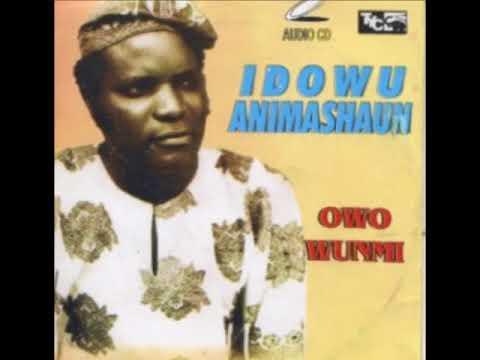IDOWU ANIMASHAUN - Kini Mbe Nigbo