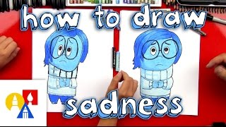 How To Draw Sadness From Inside Out