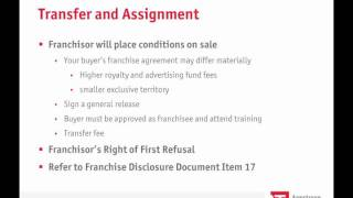 Understanding the Franchise Agreement Part 1.wmv