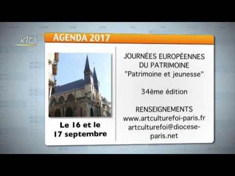 Agenda du 21 juillet 2017