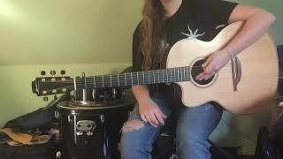 Flutter Girl (Poncier demo) by Chris Cornell - Guitar lesson
