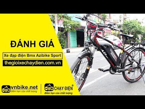 Đánh giá xe đạp điện Bmx Azibike Sport