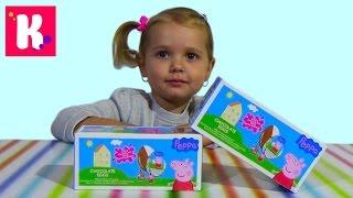 Свинка Пеппа сюрприз / Обзор игрушек