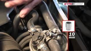 Montážní návod KYB - přední Audi A4, Audi A6, VW Passat
