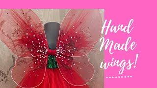 Как сделать самой крылышки для феи