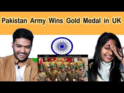 Indian reaction on Pakistan Army Wins Gold Medal in UK | Swaggy d